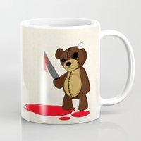 Psycho Teddy Mug