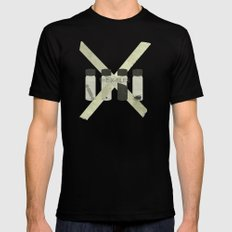 x-files  Mens Fitted Tee SMALL Black