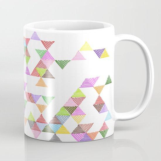 Technicolour Raindrops Mug