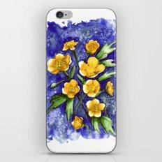 Marsh Marigolds iPhone & iPod Skin