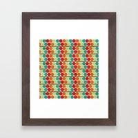 Shabby Sweet Shelf. Framed Art Print