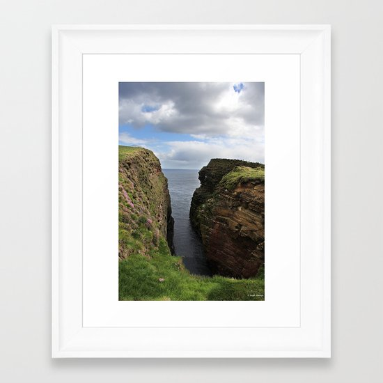 John O Groats Scotland Framed Art Print