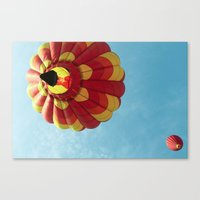 Up, Up and Away - Hot Air Balloon Canvas Print