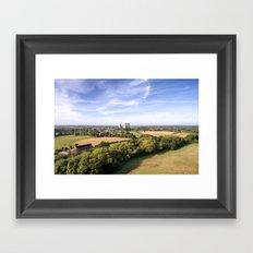 Willington towers Framed Art Print