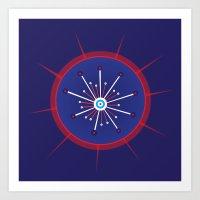 Radiolarian 5 Art Print