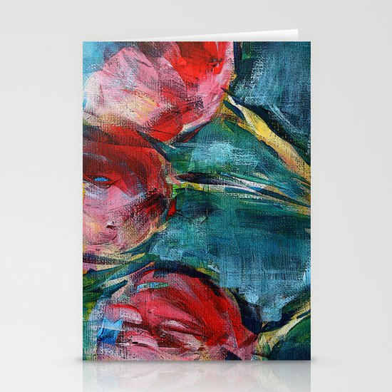 Tulips Stationery Card