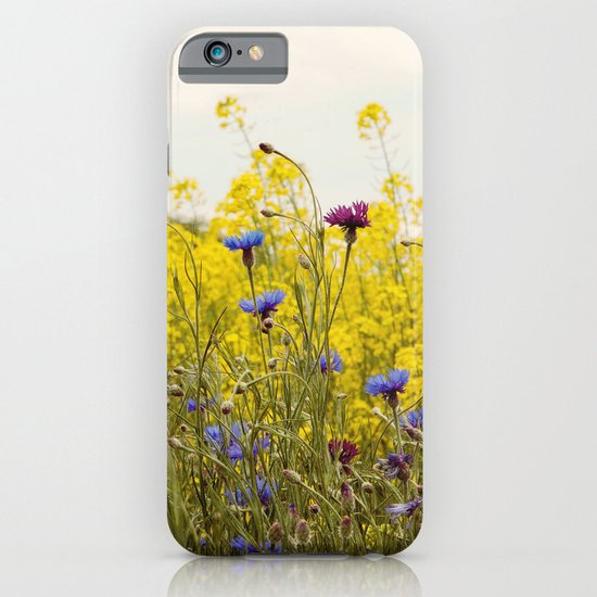 Yellow Wildflowers iPhone & iPod Case