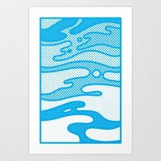 Pop Camo Art Print