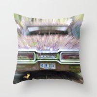 Thunderbird Lanes Throw Pillow