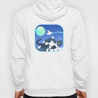 Jack Cat And The Moth Hoody