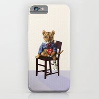 iPhone & iPod Case featuring Tiny Tiger Valentine by Peter Gross