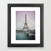 Eiffel Tower. Framed Art Print