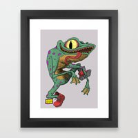 Perequeca Framed Art Print
