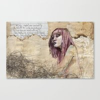 Indelicate Sensuality Canvas Print
