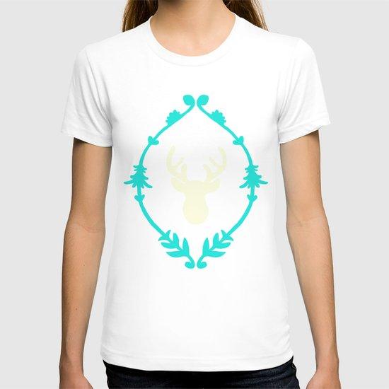 Oh Deer (white) T-shirt
