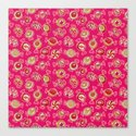candy (hot pink) Canvas Print