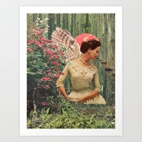 The Echo Sisters Diptych… Art Print