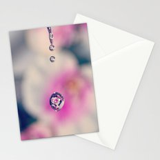 water drop Stationery Cards