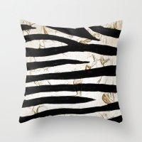 Tyger Stripes Throw Pillow