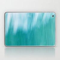 Abstract Blue & White Laptop & iPad Skin