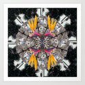 Mandala series #09 Art Print