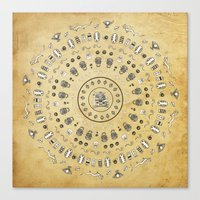 Spirit Mandala Canvas Print