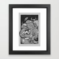 Tents Attack!  Framed Art Print