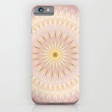 Rose Gold Mandala Medallion iPhone 6 Slim Case