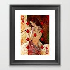 Lucky Number 9 Framed Art Print