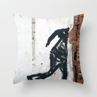 People Disappear, Right … Throw Pillow