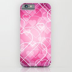 Hard line Heart Bokeh iPhone 6 Slim Case