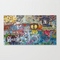 Graffiti Love Canvas Print