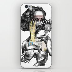 lottery girl iPhone & iPod Skin