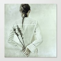 The contemplation of the hours. Canvas Print