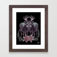 Dearie Framed Art Print