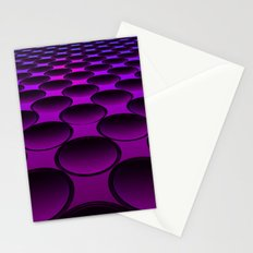 Purple Dimples Stationery Cards
