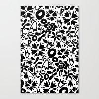 Graphic Garden Canvas Print