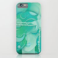 mermaid iPhone & iPod Cases featuring Mermaid by Graphic Tabby