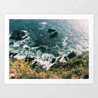 Kirk Creek, Big Sur Art Print