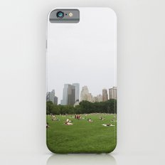 Sheep Meadow, Central Park, NYC iPhone 6 Slim Case
