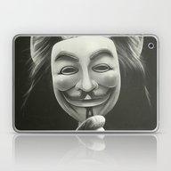 Anonymous Laptop & iPad Skin