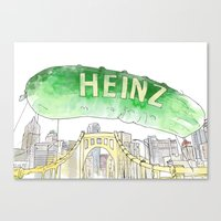Picklesburgh Canvas Print