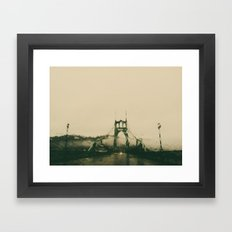 st johns rain Framed Art Print
