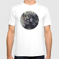 Lavender Harvest Mens Fitted Tee White SMALL