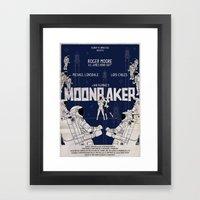 MOONRAKER Framed Art Print