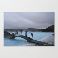 Iced Blue Canvas Print