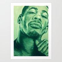 didier morville alternative green! Art Print