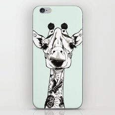 Giraffe Tattooed  iPhone & iPod Skin