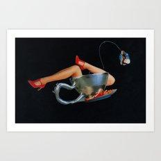 Marilyn Cup Art Print