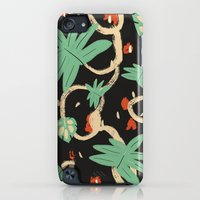 iPod Touch Cases featuring Jungle pattern by .dione tigre.